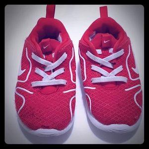 Nike sneakers.  Size 8C